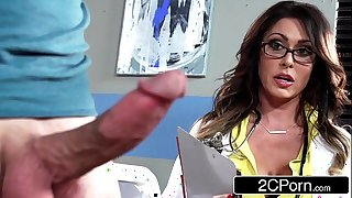 Tall super bastardize jessica jaymes milking the brush the truth