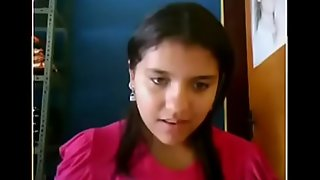 desi cute teen showing essentially webcam