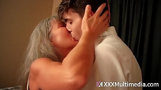 Old step mommy fucks young son - leilani lei