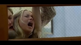 Blond forced fro detention by her teacher (North County 2005, Amber Heard)