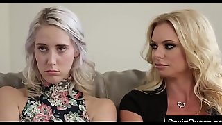 SQUIRTQUEEN.NET - Cadence Lux And Stepmom Briana Banks Fuck The Doctor