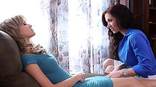 Lesbian sex under hypnosis - Angela Sommers, Jayden Jaymes