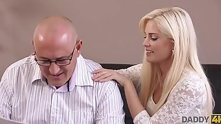 DADDY4K. Sweet Candee dreams to fuck dad of her bf